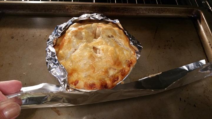 Apple Pies Foil Rim