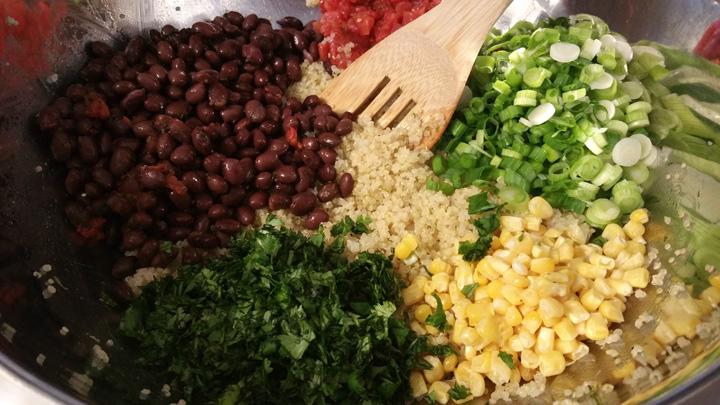 Quinoa veggies